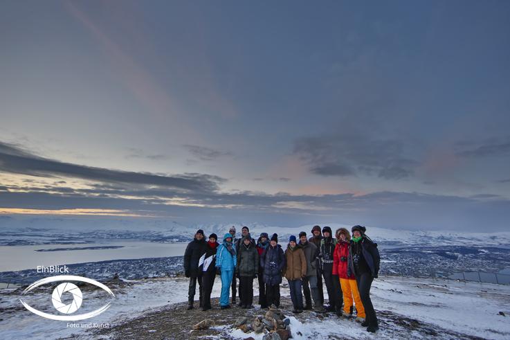 Die Teilnehmergruppe Tromsö 17
