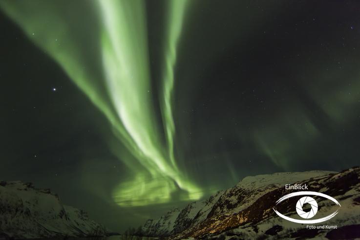 Polarlicht nähe Tromsö 12